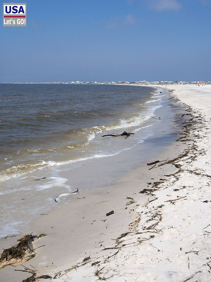Dauphin Island Main Beach