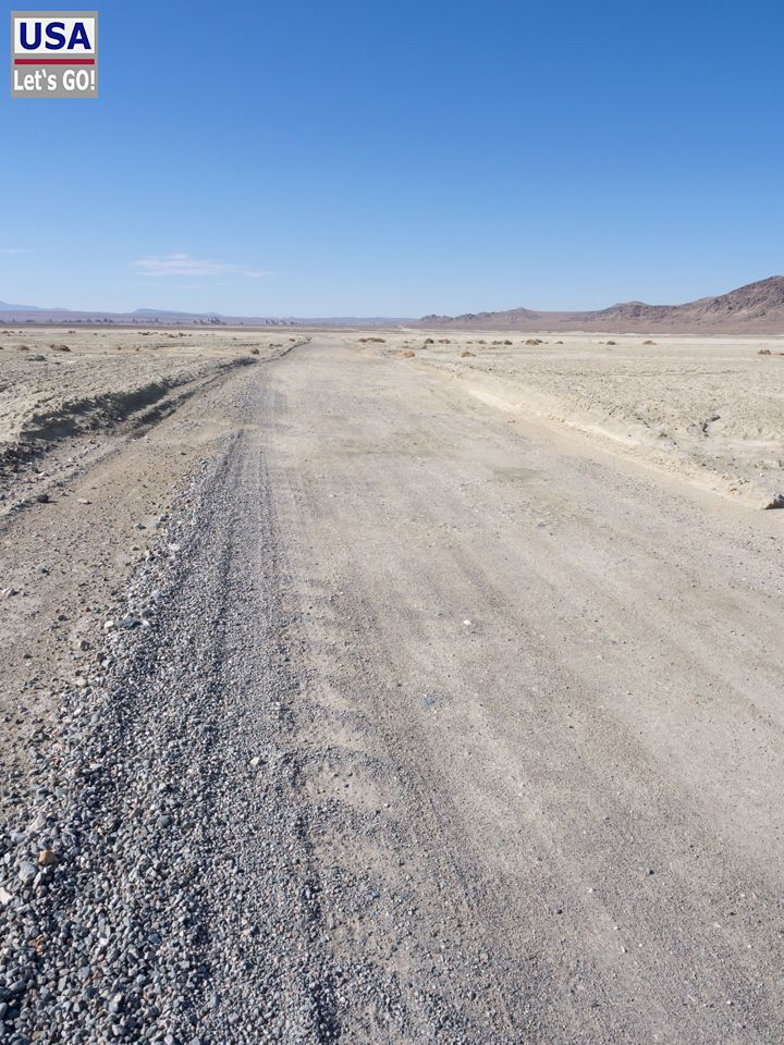 Road to Trona Pinnacles
