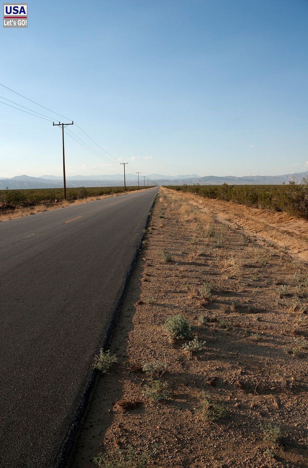 Road to California City