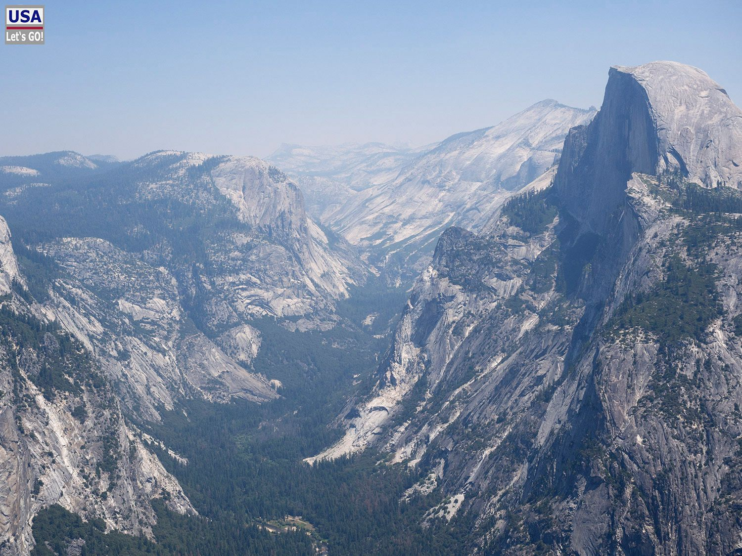 Glacier Point Yosemite National Park