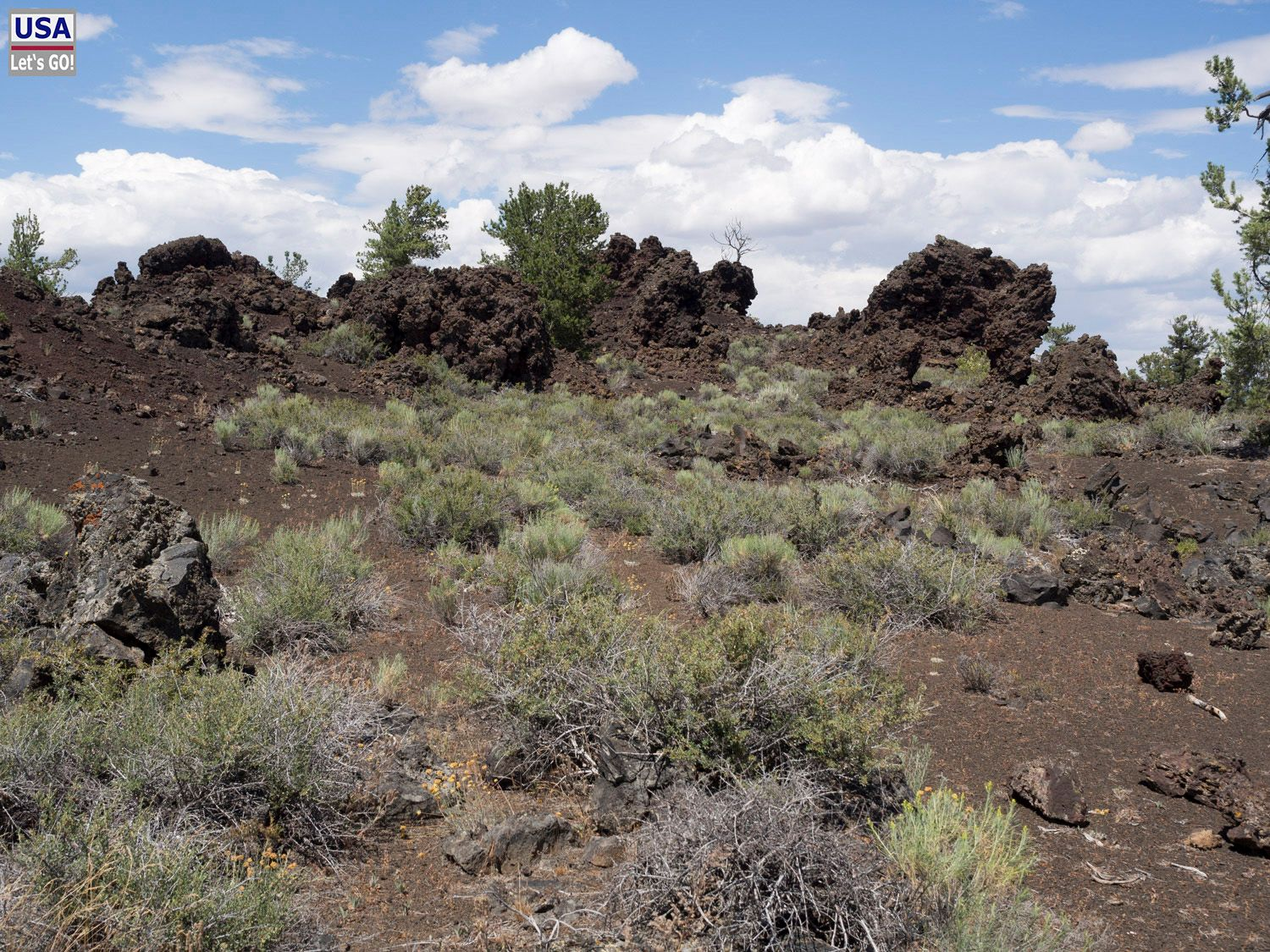 North Lava Flow Craters of the Moon